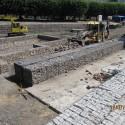 mokra fosa Gdańsk ostroga przygotowanie pod fontannę